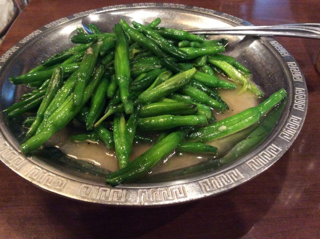 金針菜の炒め物