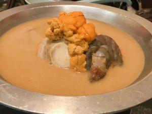 雲丹 ウニ 鍋